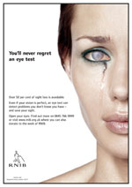 youll never regret an eye test - RNIB advert